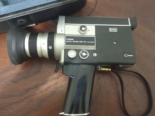 camera super 8 canon auto zoom 518sv ótimo estado na caixa