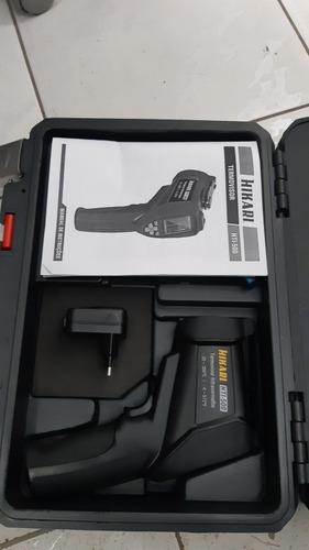 camera termica para indentificaçao de componentes aqueçendo