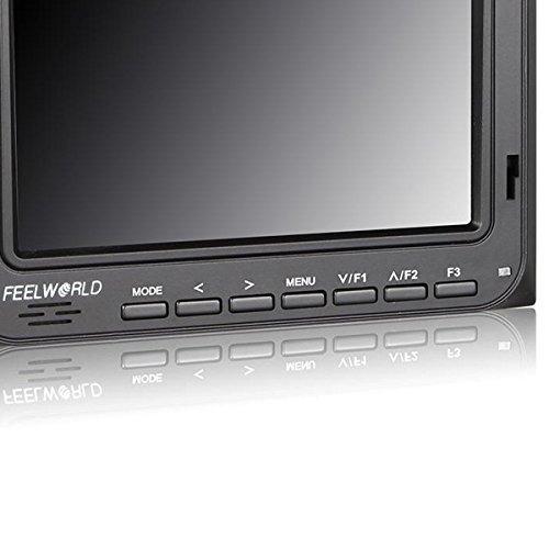 Camera-top Field Monitor W / 5 Screen, Peaking Focus