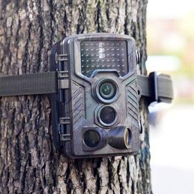 Câmera Trilha Caça Super Visão Noturna Hc800a Menu Portugues