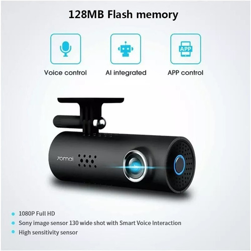 camera veicular automotiva filmadora xiaomi 70mai 1s wifi hd