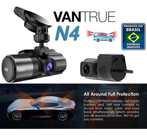 camera veicular automotiva segurança vantrue n4 tripla 70mai