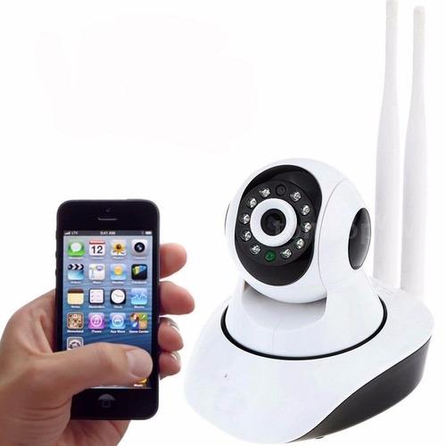 camera wifi ip hd seguranca audio celular s/ fio visao notur