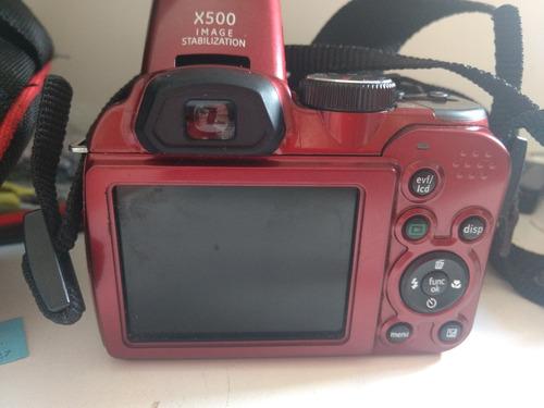 camera x500 ge semi profissional 16.mp cartao 4g