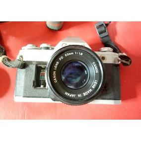 fe7a4b5fb2586 Canon Ae1 Bateria Analogicas E Polaroid Camera Analogica - Câmeras ...