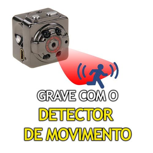 cameras de filmar minusculas micro sensor presenca mini