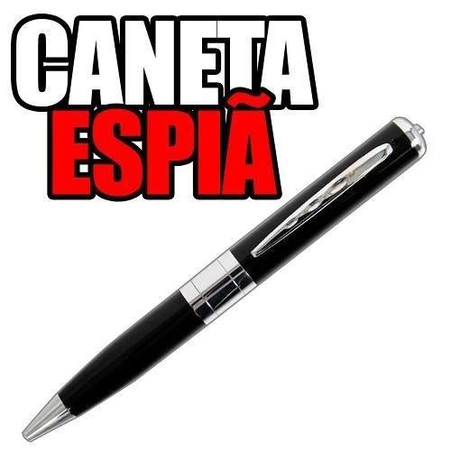 cameras de seguranca espia caneta espionagem camufladas 16gb