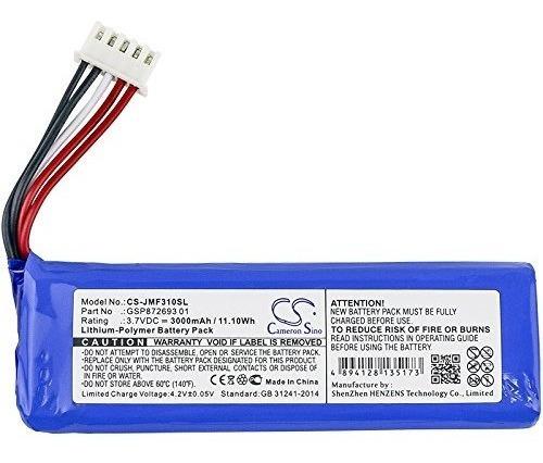 cameron batería reemplazo parlante jbl flip 4 gsp872693 01