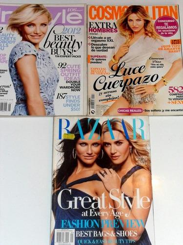 cameron diaz 3 revistas