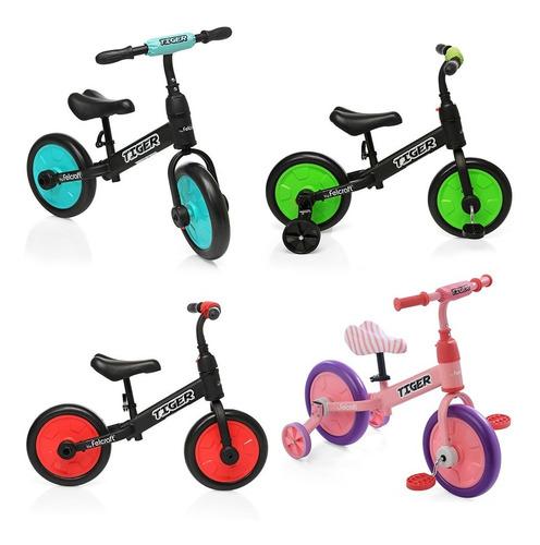camicleta bicicleta balanceo asiento regulable con rueditas