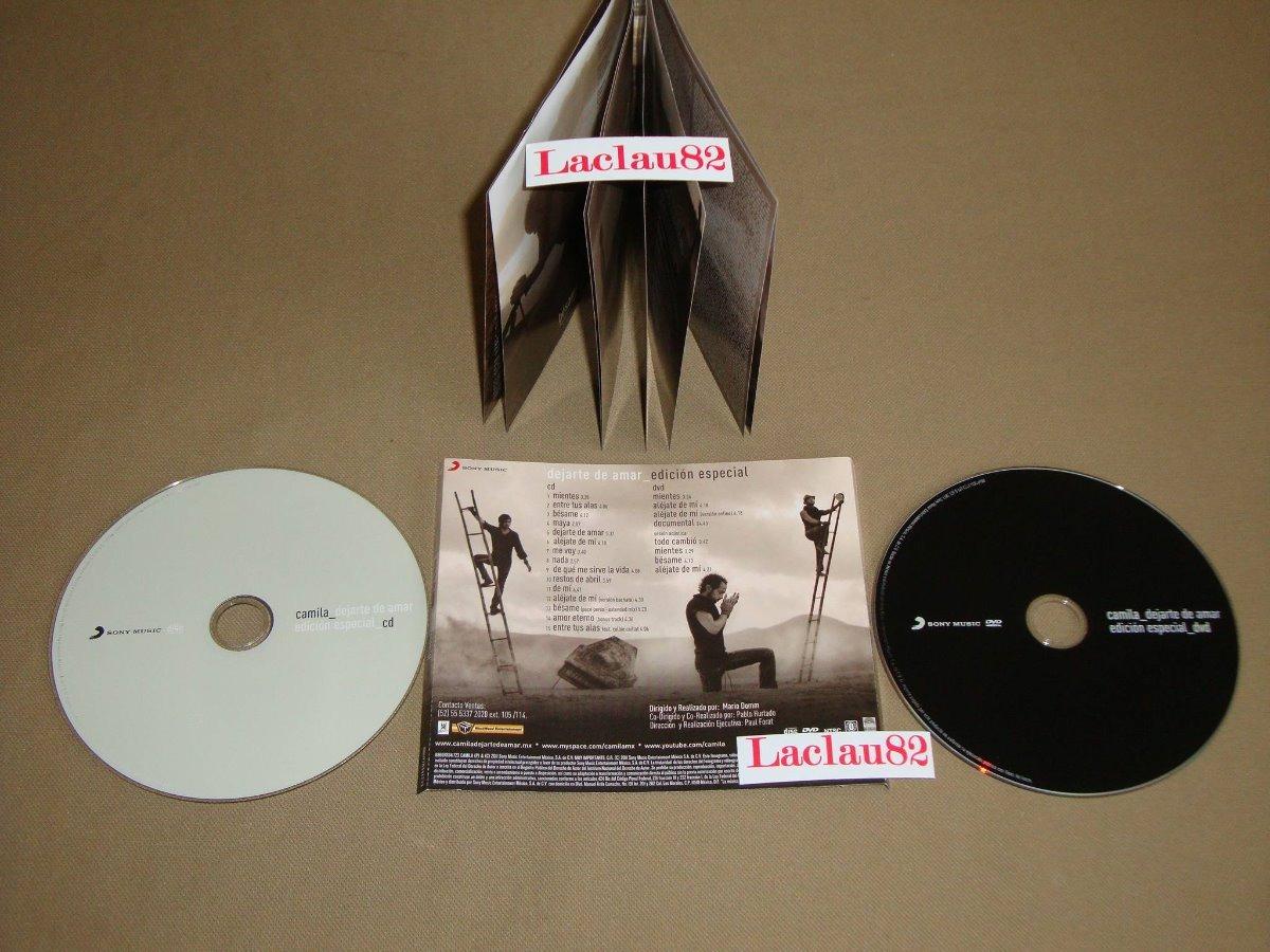 disco de camila dejarte de amar 2010