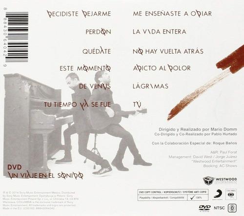camila - elypse - disco cd + dvd - nuevo (12 canciones)