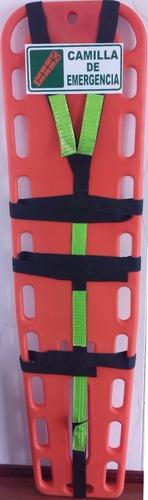 camilla camillas emergencia portátil tabla espinal arnés