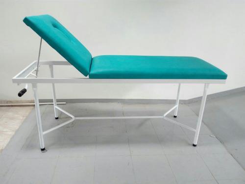 camilla con cabecero de levante para estetica y masajes