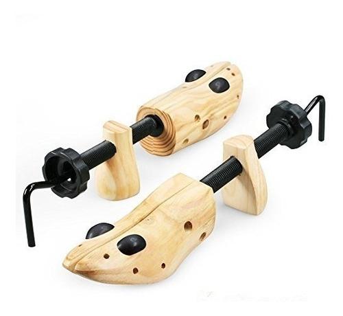 camilla de madera profesional bidireccional de los zapatos d