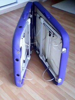 camilla de masaje de aluminio  importada regulable de altura