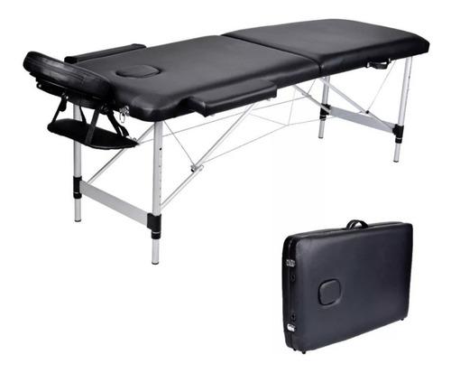 camilla de masaje plegable profesional bolso