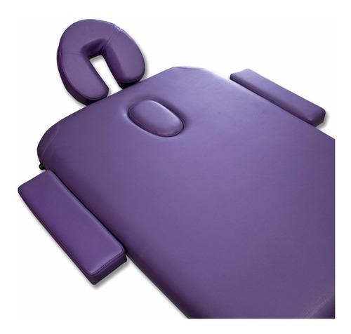 camilla de masajes premium 3 cuerpos de madera con bolso