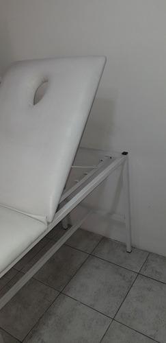 camilla divan 2 posiciones para masajes depilacion