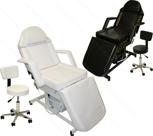 camilla electrica a control remoto con silla de regalo