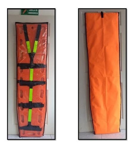 camilla  emergencia rescate+ inmovilizador+forro+ obsequios