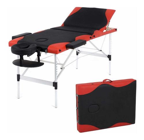 camilla masaje portátil bestmassage aluminio funda transport