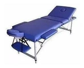 camilla masajes plegable aluminio 3 cuerpos (224)