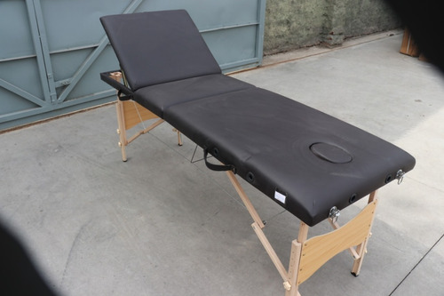camilla masajes plegable portátil 3 cuerpo