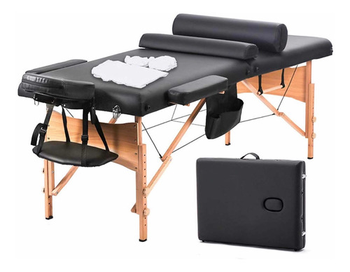 camilla masajes portátil bestmassage+sabana funda, accesorio