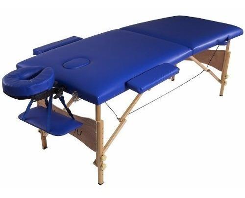 camilla masajes profesional madera colores y bolso metinca