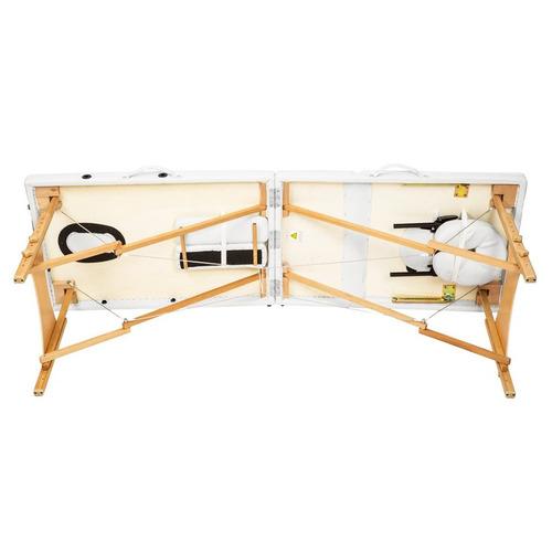 camilla masajes profesional madera maleta 90117 / fernapet