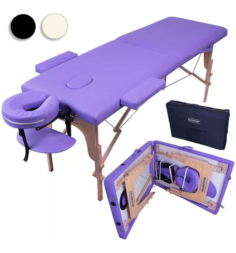 camilla masajes profesional tattoo cama spa plegable salón