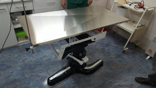 camilla mesa cirugia veterinaria hidraulica trendelemburg
