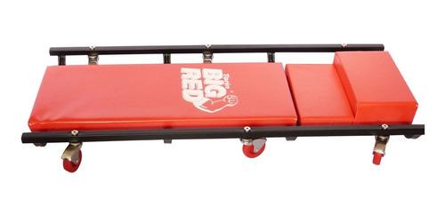 camilla para mecanico  marca torin big red reclinable