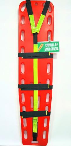camilla plástica emergencia +soporte señal