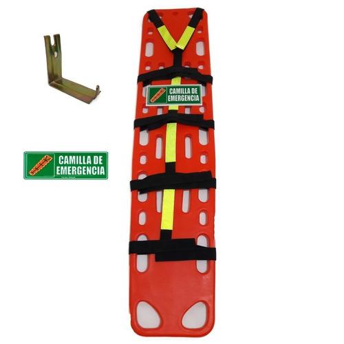 camilla plástica para emergencias rescate