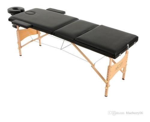 camilla portable para masajes depilación en aluminio
