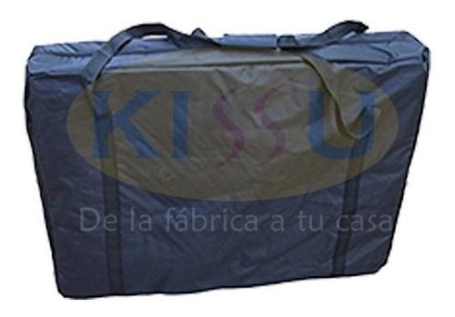 camilla portátil de masajes con maleta versatil
