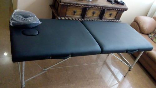 camilla portatil estetica y masajes