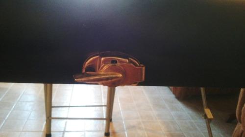 camilla portatil tipo maleta para masajes