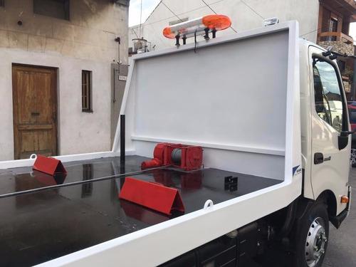 camillas hidraulicas de auxilio vehicular