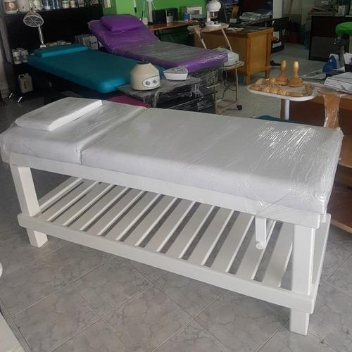 camillas madera para spa somos fabricantes