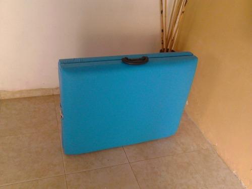 camillas maleta portátil de estética tipo spa