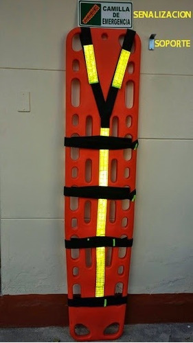 camillas plásticas, camillas rescate, camillas emergencias