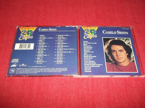camilo sesto - serie 20 exitos cd nacional ed 1991 mdisk