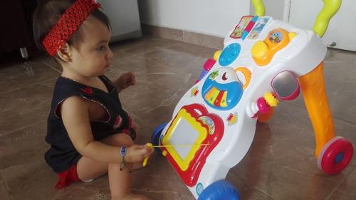 caminador bebe andadera musical didáctico unisex oferta