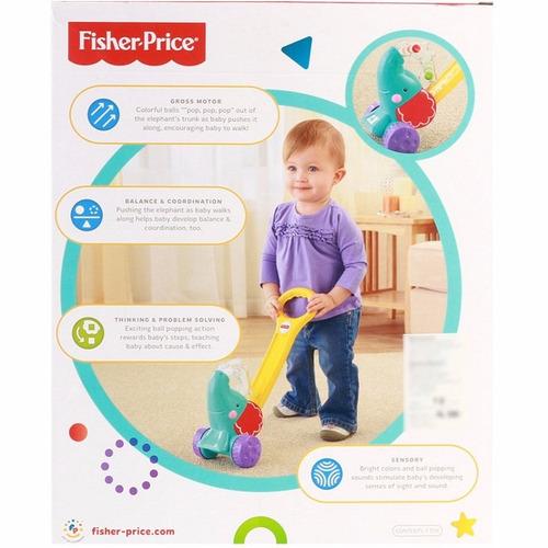 caminador de aprendizaje fisher price elefante juego juguete