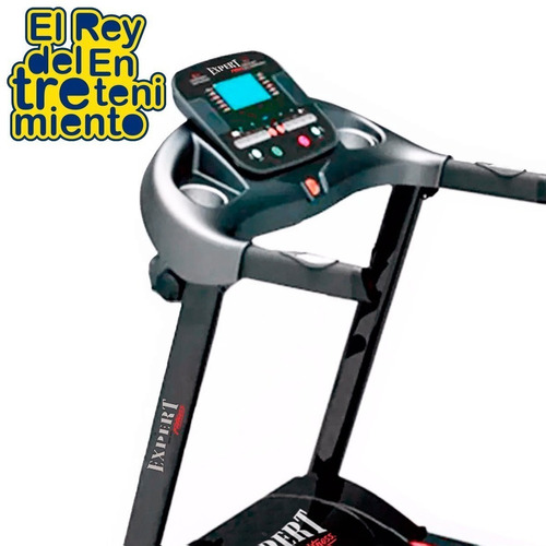caminador eléctrico profesional 3hp c/ pulsómetro - el rey