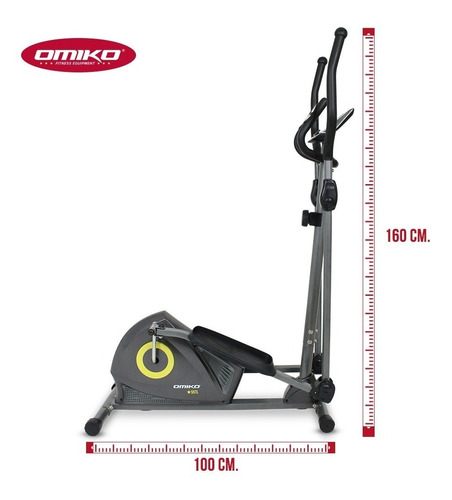 caminador elíptico residencial omiko 55tl 120 kg r o