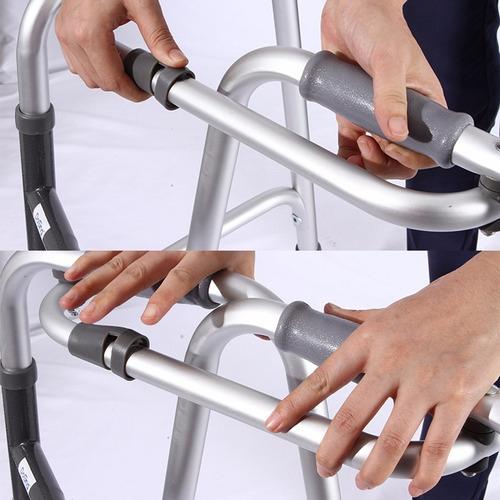 caminador ortopedico con dos ruedas graduable 20% off